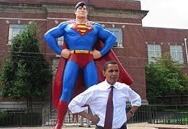 Obama, superman