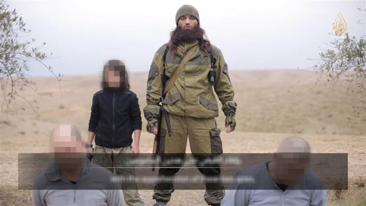 (Screen Shot from ISIS Video)