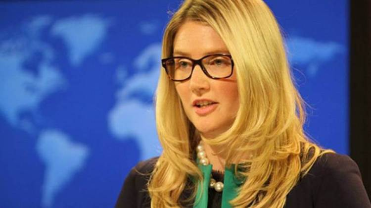 State Department Spokesperson Marie Harf