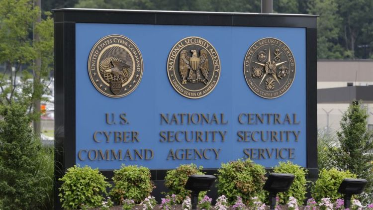 National Security Agency (NSA) campus in Fort Meade, Md. (AP)