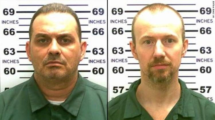 Richard Matt, left, and David Sweat