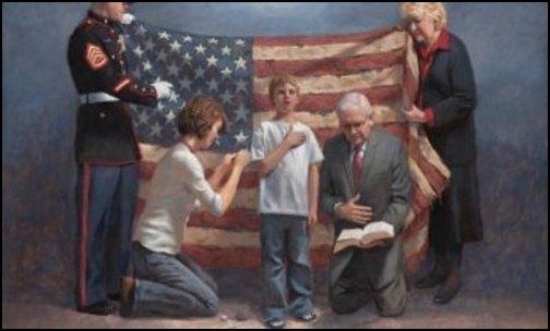 Schools may not require that children recite the Pledge of Allegiance. (Photo: Public Domain)