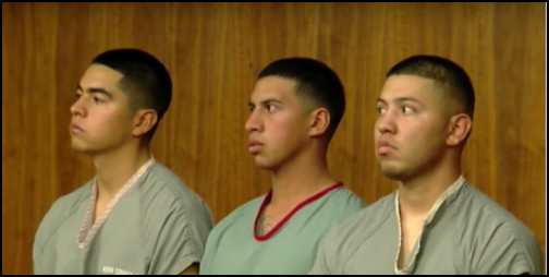 Three former Marines were sentenced August 24 for attacking a man who had an affair with a Marine's wife while he was deployed. (Photo: Twitter Snapshot)