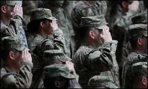 First Transgender Soldiers Seek Formal Recognition. (Photo: Public Domain)