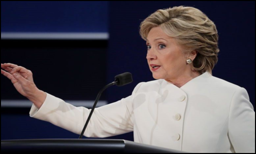 Pentagon Officials Furious After Clinton Announces US Nuclear Secrets During Debate (Photo: Snapshot Youtube)
