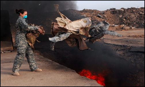 Contractors Sickened By Military Burn Pits Left To Fend For Themselves (Photo: Public Domain)