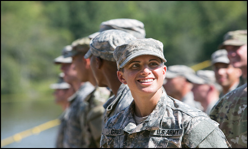 Army's First Female Infantry Officer Is Capt. Kristen Griest. (Photo: Public Domain)