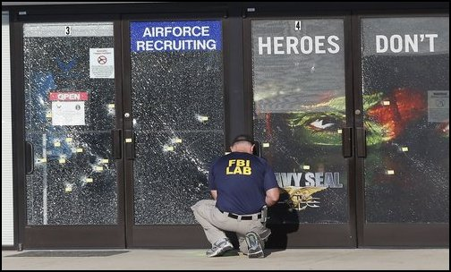 Marines reportedly sacrificed themselves to protect fellow troops in  Chattanooga shooting.(Photo: Public Domain)