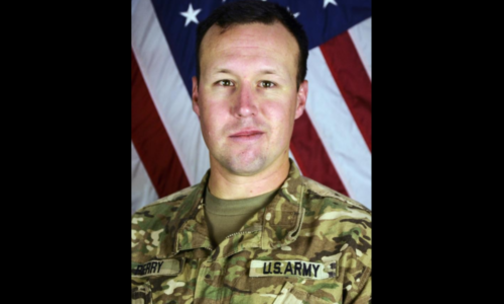 Sgt. John W. Perry who died recently in Afghanistan. (DoD photo via AP)