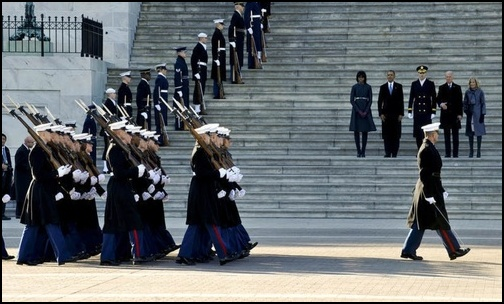Old Guard Soldiers prepare for 58th Presidential Inauguration (Photo: Public Domain)