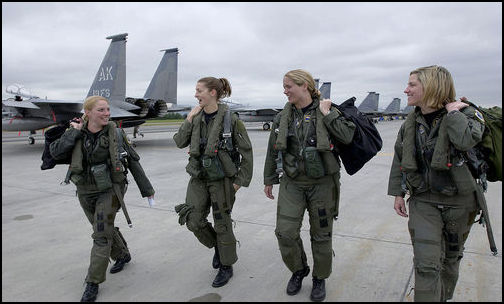Women's Expanded Role in Combat (Photo: Public Domain)